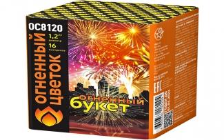 """Батарея салютов ОС8120 Огненный букет (1,2"""" х 16)"""