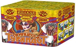 """Батарея салютов РС6430 Принцесса Турандот (0,8"""" х 25)"""