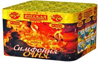 "Батарея салютов РС8200 Симфония огня (1,2"" х 25)"