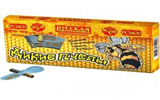 Летающий фейерверк РС140 / РС1400 Дикие пчелы (упаковка)