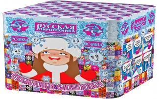 """Батарея салютов РС6934 Снежинки и смешинки (0,8"""" х 25)"""
