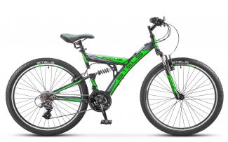 """Двухподвесный велосипед STELS 26"""" Focus 18-sp V030"""