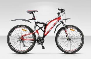 Двухподвесный велосипед STELS 26 Adrenalin V