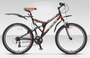 Двухподвесный велосипед STELS 26 Challenger (новый дизайн)