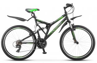 Двухподвесный велосипед Crosswind