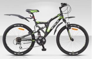 Двухподвесный велосипед STELS 24 Challenger (новый дизайн)