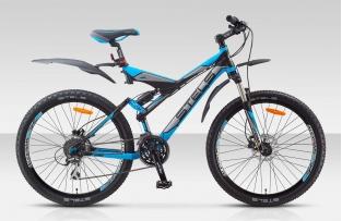 Двухподвесный велосипед STELS 26 Navigator Disc (новый дизайн)