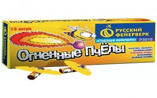 Летающий фейерверк Р3010 Огненные пчелы (упаковка)