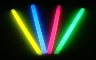 Глоустик - светящиеся палочки (ХИС) 200 х 10 мм DBT10200 (упаковка 25 шт.)
