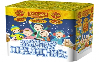 """Батарея салютов РС7110 Зимний праздник (1"""" х 20)"""