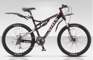 Двухподвесный велосипед STELS 26 TORNADO Disc (новая модель)