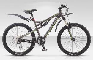 Двухподвесный велосипед STELS 26 TORNADO (новая модель)
