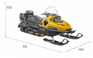 Снегоход STELS 800 VIKING CVTech 2.0 SWT Beaver 2020